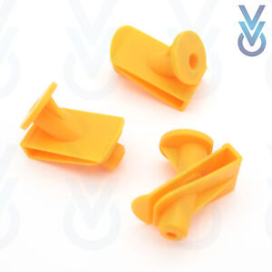 10x VVO® Engine Undertray & Underbody Shield Clips for Smart Fortwo 450 451