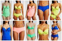 Underwired Tankini Bikini Separates BNWT Matalan Blue Green Coral (BE)