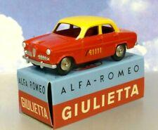 NICE HACHETTE DIECAST MERCURY TOYS ALFA ROMEO GIULIETTA BERN TAXI RED & YELLOW