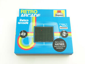 Haynes Retro Arcade - Build Your Own Classic Arcade Game - Pong *New in Box*