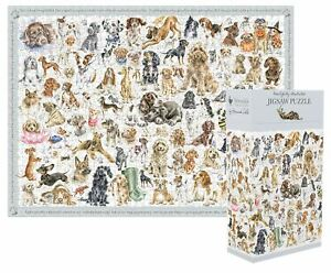 Wrendale Designs 100 Piece Jigsaw Puzzle - A Dog's Life