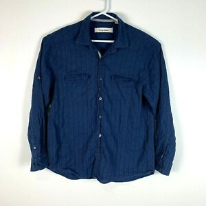 Tommy Bahama Linen Shirt Size Men's Large