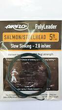 Airflo PolyLeader Salmon/Steelhead 5ft . Slow Sinking - 2.6 in/sec 24lbs