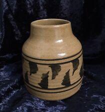 Scottish Studio Pottery Vase, Marked at Base.