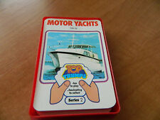 VINTAGE dubreq Top Trumps CARD GAME-Yacht (serie 2)