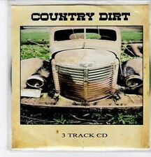 (BQ243) Country Dirt, 3 track sampler - DJ CD