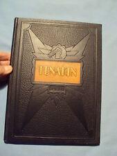 ANTIQUE 1931 TENAKIN NJ YEARBOOK High School NEW JERSEY