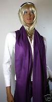 Fein; 100 % Cashmere Stola/Schal/Foulard (Pashmina), lila/purple, ca. 190x60 cm