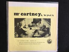 Paul McCartney & Wings- Belgium 1972- mega rare nine live tracks- CBM Recds-1972