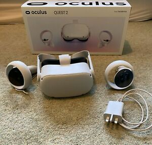 Oculus Quest 2 64GB VR Headset with Controllers - hardly used, in original box
