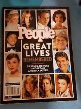 PEOPLE MAGAZINE EDITORS - PEOPLE Great Lives Remembered: **Like New**