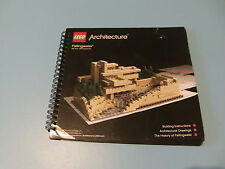 Lego Architecture Fallingwater Building instructions Manuel
