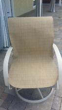 OUTDOOR PATIO FURNITURE SLING FABRIC material brown sunbrella replacement tan