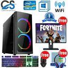 Fast Intel Quad Core I5 Gaming Pc Computer 8gb Ram 1tb Hdd Windows 10 Gt 710 2gb