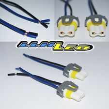 2 x 9005/9006 Wire Harness Fog light Bulb Socket Connector Xenon Ceramic New