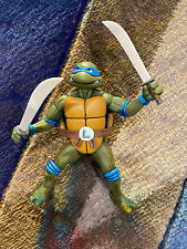 Neca TMNT Teenage Mutant Ninja Turtles LEONARDO (vs Shredder 2 Pack) ADULT OWNED