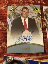 KANE 2018 TOPPS WWE LEGENDS OF WRESTLING ON CARD AUTO /50 Autograph