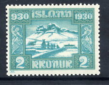 ICELAND 1930 Millenary of Parliament 2 Kr.  MNH / **.
