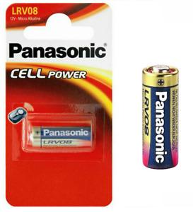 LRV08 Panasonic Voiture Alarme Batterie Alcaline Long Life Petit 12 Volt Cell D