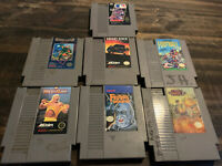 Nintendo NES Game Lot of 7