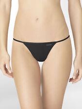 acddcb2ebdb Calvin Klein Women s Lowrise Sleek String Thong Underwear - 2 Colors