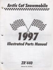 1997 Arctic Cat Snowmobile Zr 440 Parts Manual P/N 2255-589 (336)