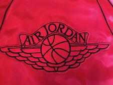 Nike Jordan Wings 1985 - AJ Satin Jacket - Red - Medium - Very Rare