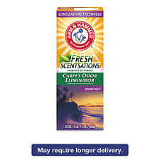 Arm & Hammer Fresh Scentsations Carpet Odor Eliminator Island Mist 30 oz Box 6