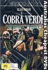 Cobra Verde 1987 ( Directed by Werner Herzog ) DVD