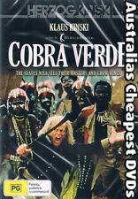 Cobra Verde DVD NEW, FREE POSTAGE WITHIN AUSTRALIA REGION ALL