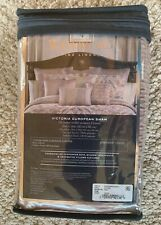 New Waterford Victoria Pillow Sham - Orchid (Dusty Purple Shade) New In Package