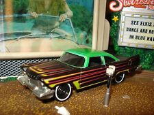 HOT WHEELS 1958 PLYMOUTH FURY LIMITED EDITION 1/64 EVIL LOOKING