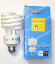 Lot of 2 X  EDISON OptoLight Ligh bulbs,ENERGY SAVING 32W = 125W ~Soft White
