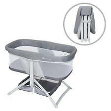 Baby Trend Quick-Fold 2-in-1 Rocking Portable Bassinet - Shadow Stone Gray
