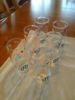1988 Vintage Anchor Hocking Drinking glasses Set of 6