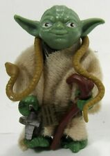 Vintage Star Wars Brown Snake Yoda Authentic Complete
