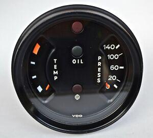 Porsche 911 Oil Temp And Pressure Gauge 911 641 107 31 / 91164110731