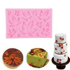 Maple Leaf Silicone Fondant Mold Cake Decorating Chocolate Sugarcraft Mould Tool