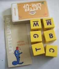 Dice and Cards from Cranium Letter Line Up game