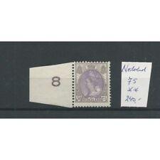 Nederland 75 Wilhelmina 50ct  MNH/postfris   CV 240 €