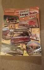 Walthers 1992 Large Scale Catalog Model Railroad Reference Book Trains