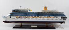 Costa Fortuna Handmade Cruise Ship Model scale 1:350