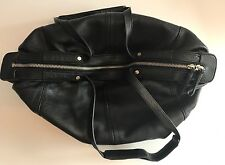 BANANA REPUBLICK BLACK LEATHER LADIES HOBO SHOULDER BAG EXCELLENT PRE-OWNED COND