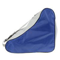Oxford Skates Bag Shoulder Backpack for Inline Roller Speed Quad Skates Blue
