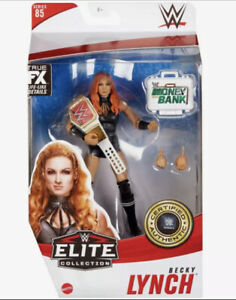 Mattel WWE Elite Collection BECKY LYNCH action figure Series 85 with briefcase