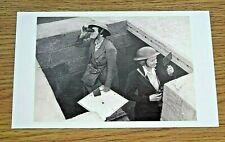 LONDON TRANSPORT POSTCARD ~ AIR RAID PRECAUTION WORKERS ~ PHOTOGRAPH ~ 1941