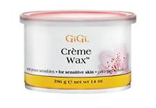 16 Can GiGi Creme Wax Hair Removal For Sensitive Skin 14 oz