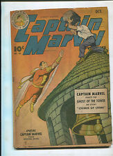CAPTAIN MARVEL ADVENTURES #40 (4.0) BATTLES THE GHOST OF THE TOWER