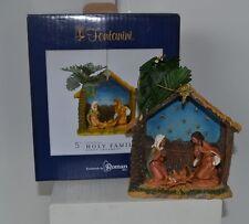 Fontanini Nativity Christmas Ornament Holy Family Mary Joseph Baby Jesus 2014