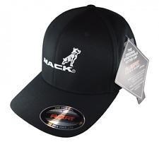 Mack Trucks Flexfit curved black cap with Mack logo